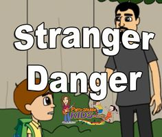 Stranger Danger | Stranger Awareness for Kids. The video depicets how children must stay safe. It shows that the children must never attend any stranger at public places, any stranger knocking at the door. If child feels unsafe, they must talk to their parents and must always be with a known group of Friends rather being alone.