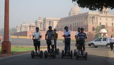World Renowned Segway Tour Now in India – Segway Tour at Rajpath | Padhaaro