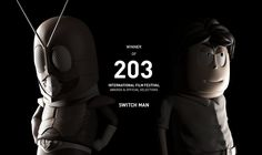 """Hsun-Chun Chuang X Shao-Kuei Tung   Switch Man / Winning 202 International Film Festival award & official selection titles.  http://nick2222g2.cgsociety.org/art/switch-man-animation-3d-1267015   The concept of Switch Man /  """"A young hero stood up fights Dr. Evil Mantis, the only key to his success is to switch! """"  This is a short, fast pace, and black humor animate comedy.  The story opens by Dr. Evil Mantis invades K city and create mass destruction, one young man stood up to f..."""