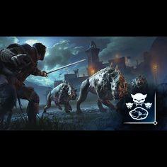 Zähne des Todes - Locke Caragor mithilfe von Ködern 5 Mal an. #shadowofmordor #xboxone #xbox #achievement #gamer #followme #happy