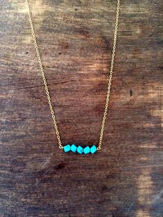 my bami loves turquoise jewelry. I've been known to like a few pieces as well.