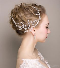 Vintage Wedding Bridal Prom Women Silver Crystal Rhinestone Stars Headband Hairband Crowns Hair Accessories Tiara Fascinators Jewelry Party Rose Hair Clips Scunci Hair Accessories From Smilegirl36912, $21.11| Dhgate.Com