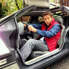 Tanner Foust, Back to the Future.