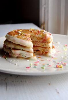 Healthy Gluten-Free Funfetti Pancakes