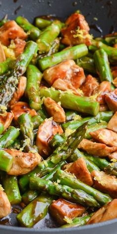 Lemony Chicken Stir Fry with Asparagus.I added too much lemon juice paleo dinner stir fry Heart Healthy Recipes, Paleo Recipes, Asian Recipes, Healthy Meals, Dinner Recipes, Healthy Eating, Cooking Recipes, Stir Fry Recipes, Clean Eating