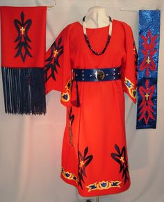 I love this waterbird design. This was made by the same woman making my regalia.