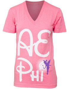 Cutest recruitment shirt. Back is a must see too! Wish it was Phi Sig.