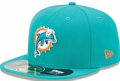 NFL Miami Dolphins Fitted Hat id01 6c91fe813143
