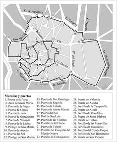 Historias matritenses: Puertas y Portillos de Madrid