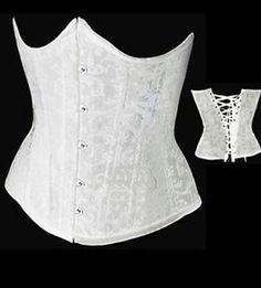 Lace Up Women Corset Boned Bustier Underbust Waist Training Cincher Belt s 6XL | eBay