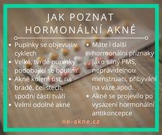 Jak poznáte hormonální akné? A jak ho vyléčit přírodní cestou? #akné #přírodníléčba