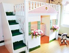 """Acquire terrific recommendations on """"bunk bed ideas for small rooms"""". - Acquire terrific recommendations on """"bunk bed ideas for small rooms"""". They are offered for you - Bunk Beds Small Room, Bunk Beds With Stairs, Kids Bunk Beds, Small Rooms, Bed Rooms, Playhouse Bed, Childrens Playhouse, Childrens Beds, Princess Room"""