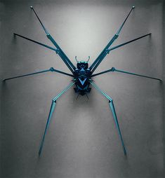 Generative Polygonal Insects by Istvan