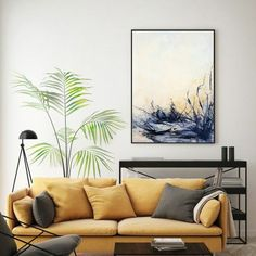 Large original beige yellow abstract painting, neutral color wall decor, ready to and on the wall artwork. Minimalist, contemporary, abstract. It will be a wonderful decoration for your home or office and a great gift for your friends and family. No matter the home style, modern, minimalist, art deco, industrial, the painting will add color, joy and depth to your space. Black, white, unbleached titanium, yellow ochre, purple, muted gray, light blue. Large Abstract Wall Art, Large Canvas Wall Art, Extra Large Wall Art, Blue Abstract, Beach Wall Art, Home Wall Art, Minimalist Painting, Modern Wall Art, Contemporary Art