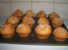 Muffins frais orange-gingembre
