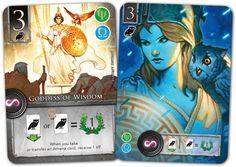 Elysium | Image | BoardGameGeek Game Card Design, Board Game Design, Card Ui, Alternative Art, Table Games, Disney Pins, Design Reference, Game Art, Art Inspo