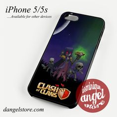 Clash of Clans Phone case for iPhone 4/4s/5/5c/5s/6/6 plus