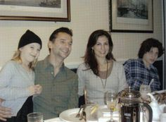 Sweet and beautiful family..Dave Gahan his wife Jennifer Sklias, Stella Rose and Jimmy.