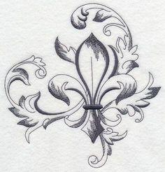 Fleudelis tatoo