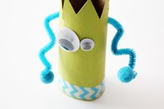 Toilet Paper Roll Crafts: Recycled Monster Treat Holders