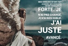 J'ai juste avancé #Citation #Citations #Courage #Avenir #Douleurs #Amour