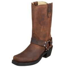 Durango  RD594,  Damen Bikerboots , Braun - Harness Brown - Größe: 37 (4.5 UK)