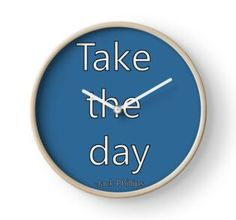 'Penpals Podcast: Take the day - Jack Phillips' Clock by Caroline Brennan Iphone Cases, Clock, Day, Shirt, Watch, Dress Shirt, Iphone Case, Clocks, Shirts