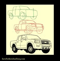 1000+ images about DRAWINGS on Pinterest | Muscle cars ...