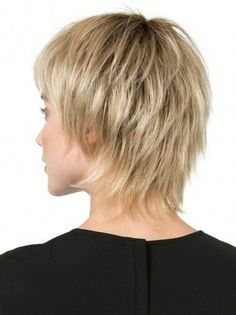 The Play Monofilament Wig by Ellen Wille is straight, choppy, and layered to frame the face. The monofilament crown is hand-tied and located where the hair naturally parts. Short Shaggy Haircuts, Shaggy Short Hair, Short Shag Hairstyles, Short Haircut Styles, Short Thin Hair, Haircuts For Fine Hair, Haircut For Thick Hair, Short Hair With Layers, Short Hairstyles For Women