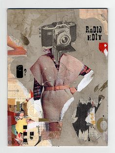 Handmade collage on cardboard Collages, Collage Artists, Collage Illustration, Illustrations, Photomontage, Magazine Collage, Mixed Media Collage, Dada Collage, Grunge Art