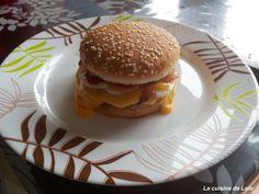 La cuisine de Lolo: Hamburger maison rapide