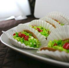 Dessert taco (Cinco de Mayo)