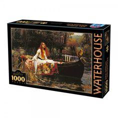 Pani Shalott, Waterhouse