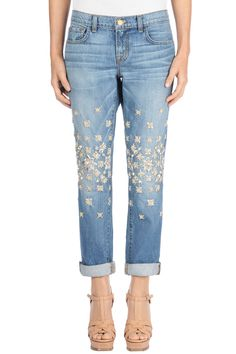 learn how to DIY Christopher Kane jeans
