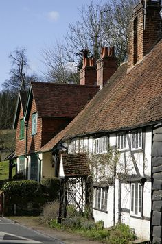 Village Lane Shere Surrey..♔...not far from where we used to live