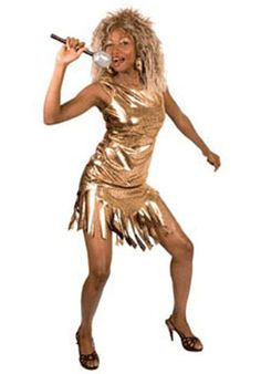 Buy Adult Gold Rock Queen Costume, available for Next Day Delivery. You will Simply Be the Best with our Adult Gold Rock Queen Costume, Inspired by the One and Only Rock Icon, Tina Turner. 1980s Fancy Dress, Ladies Fancy Dress, Fancy Dress Outfits, Trendy Dresses, 80s Fancy Dress Ideas, Pop Star Fancy Dress, Dress Clothes, Costumes For Sale, Costumes For Women