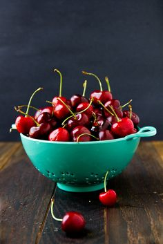 Cherries by foodiebride