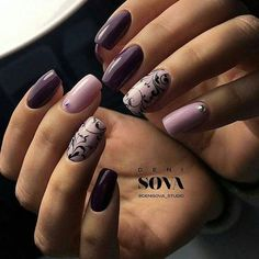 french nails with gold Silver Manicure Nail Designs, Nail Manicure, Nail Art Designs, Nails Design, Fancy Nails, Cute Nails, Pretty Nails, Nagellack Design, Modern Nails