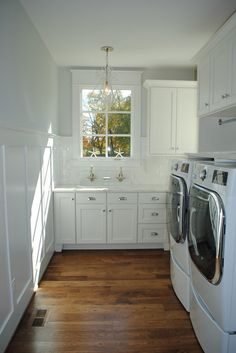 Laundry Room Wainscoting. Laundry Room Wainscoting. Laundry Room Wainscoting #LaundryRoomWainscoting #LaundryRoom #Wainscoting Stacye Love Construction & Design, LLC