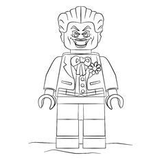 Coloring Page The Joker