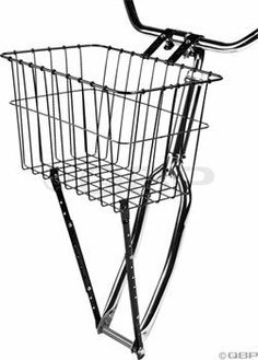 Wald 198 Front Bicycle Basket (14.5 x 9.5 x 9, Black) by Wald. $21.85. Gloss black. Wald 198 front adjustable basket. 2 Piece adjustable legs. 2 Lower leg mounting holes. 14.5 x 9.5 x 9-Inch. This versatile basket is the most adaptable front basket we offer. The two-piece adjustable legs extend up to six inches*. The legs can be mounted to either the fork axle or the eyelets. This basket also features longer handlebar clamps for greater clearance when mounting.. Save 25%!