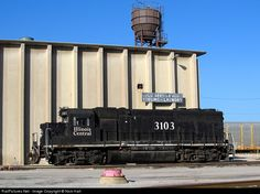 illinois central railroad markham | ... Illinois Central Railroad EMD GP40R at Markham, Illinois by Nick Hart