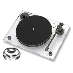 """Now we're having those beautiful turntables by Pro-Ject in stock! Right here you can see the """"Experience Basic Plus"""". Your vinyl will love it!"""