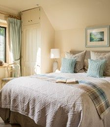 Cheltenham luxury self-catering country house in the Cotswolds; perfect for large groups seeking luxury accommodation in Cheltenham and Cirencester House Party, Stone Cottages, Luxury Accommodation, Double Bedroom, Country Decor, French Country, Farmhouse Style, Shabby Chic, Rustic