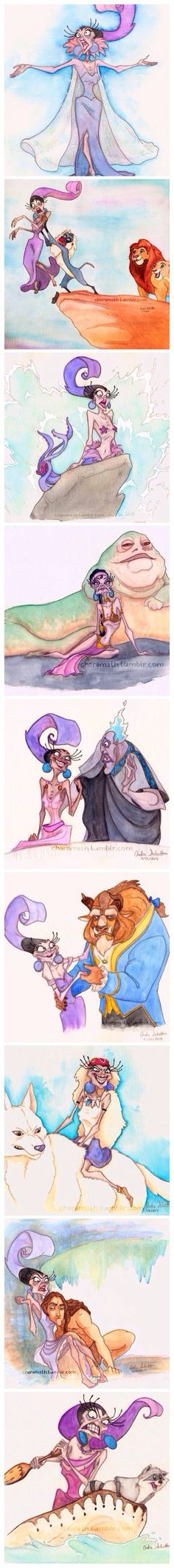 Isma debería ser la protagonista de todas las historias Disney y otras mas....