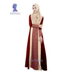 04885107696f8 020 hot Caftan Turkish Abaya Muslims abaya dress for women Arab Robes Muslim  kaftan Islamic clothing ladies fashion islamic lace-in Islamic Clothing  from ...