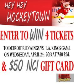 Enter Ultimate Hockey Ticket Giveaway from National Coney Island!