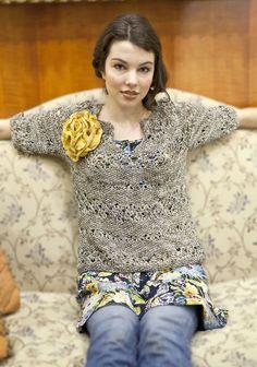 Buzios - free sweater pattern from Berroco