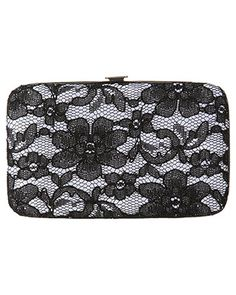 rue21 Lace Overlay Clutch. $9.99