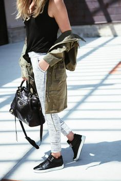 Learn to Style Athleisure at www.HerStyledView.com